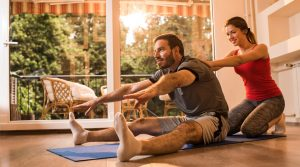 personal trainer at home